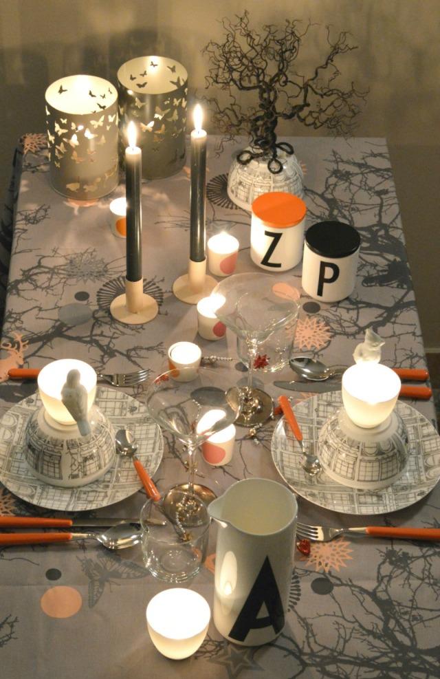 brio oranje op tafel